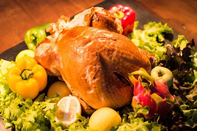 وصفة الدجاج المحشي